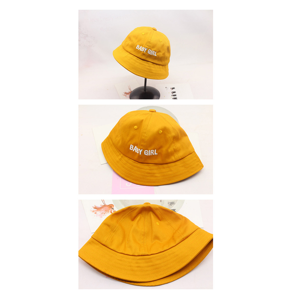Childlike simple and handsome children's sunshade fisherman hat