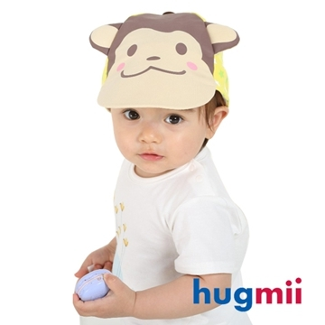 (hugmii)[] Hugmii playful monkey _ three-dimensional shape of a baseball cap