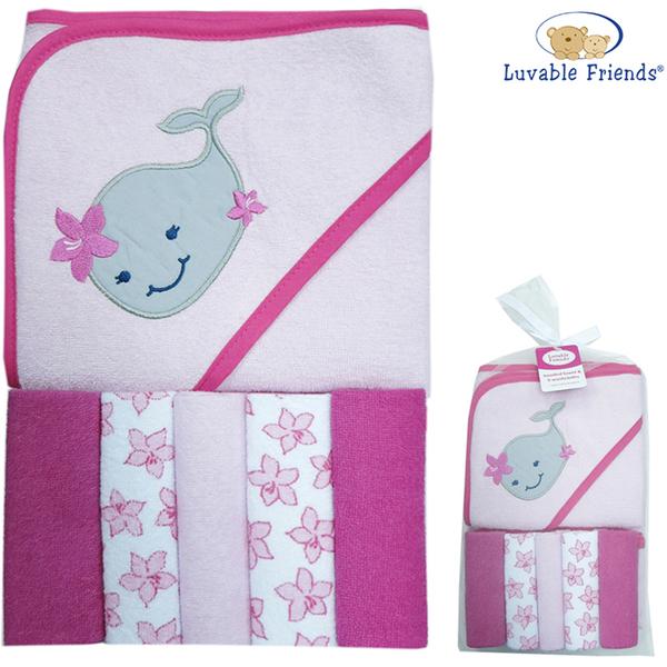 (luvable friends)US luvable friends infants enrolled terry towel coat +5 _ bathing elephant (05250)