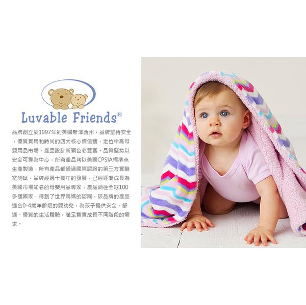 (luvable friends)American luvable friends infant animal modeling hooded bath towel / towel _ smile fox (LF57087)