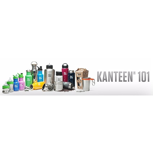 US Klean Kanteen stainless steel bottle 800ml- save painted version