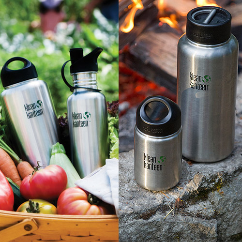 US Klean Kanteen can benefit a wide mouth primary steel cylinders 1893ml-