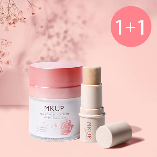 (MKUP)Succeed play makeup group ★ MKUP beauty coffee bed whitening cream 30ML + pen more powerful make-up stick 6G