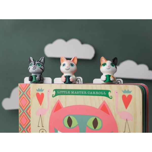 MyBookmark gift handmade bookmarks - Coffee addiction meow (Mr. Smarty)