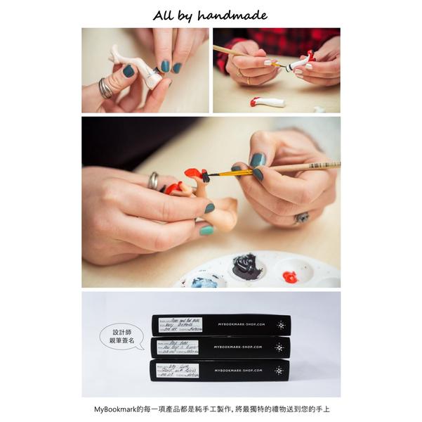 (MyBookmark)Gift myBookmark hand bookmark - ballet girl