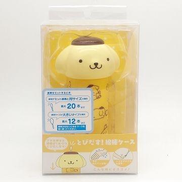 (Sanrio)Japanese pudding dog shape pressed cotton sticks automatically pop cotton (4827)