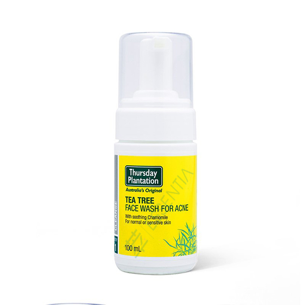Thursday Tea Tree Face Wash สำหรับสิว 100ml