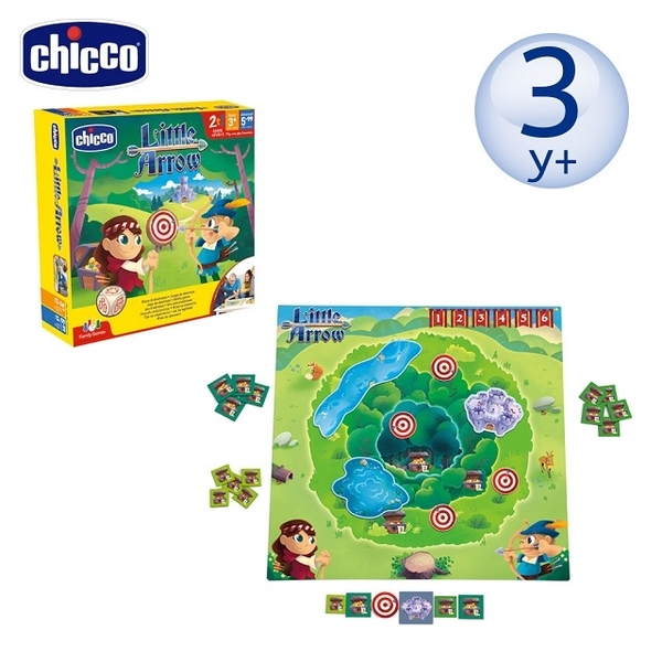[chicco] Parent-child puzzle board game - little god shooter