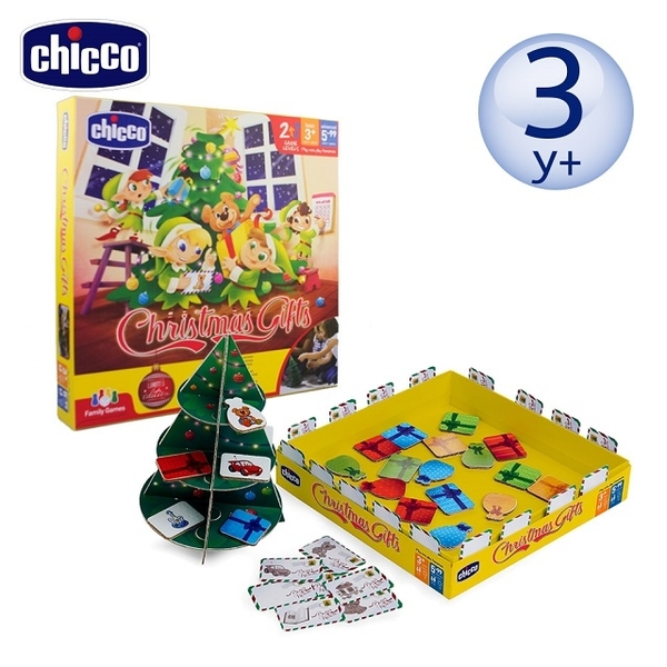 (Chicco)Chicco board game for parent and child - shaking Christmas tree