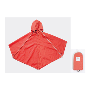 [] OFESS raincoat Poncho Cloak - pink (M) indulgence pamper yourself