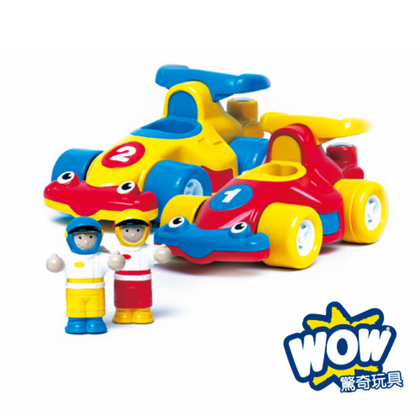 (WOW Toys)[WOW Toys] UK Formula One little car - speed brothers
