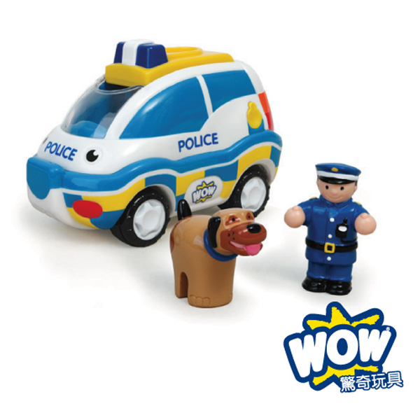 (WOW Toys)[WOW Toys] UK hunting police car - Charlie (K9 team)