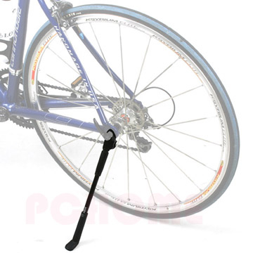 Taiwan to manufacture the patented quick-release rear wheel side stand