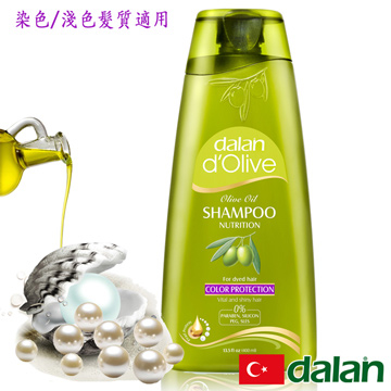 (dalan)[Turkey] dalan d'Olive olive pearl barley protein color protection shampoo (Treated Hair)