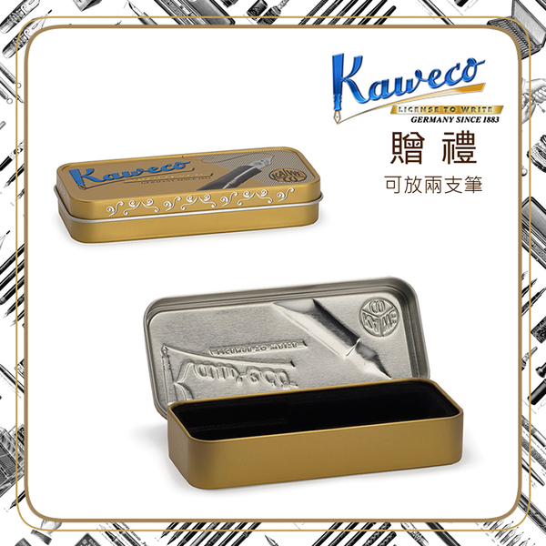 (KAWECO)Germany KAWECO SKYLINE Series Pen white F