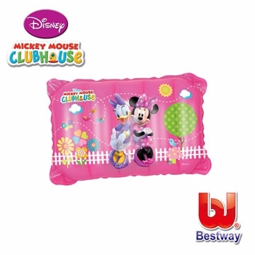 "(Disney)[Love and rich L & R] ""Disney"" Disney Minnie Daisy inflatable pillows, lunch break pillow 91031"