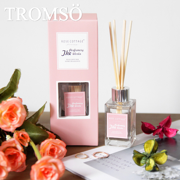 (TROMSO)TROMSOx charm French summer flower macaron bamboo wood fragrance - rose
