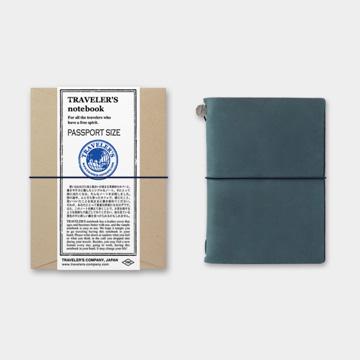 (MIDORI)MIDORI TRAVELER'S Notebook Traveler's Notebook Passport Size / Blue