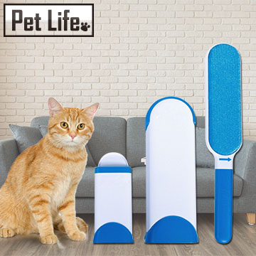 (Pet Life)Pet Life magic hair removal brush / sticky hair / pet sticky hair - Buy big send small (donated portable type)