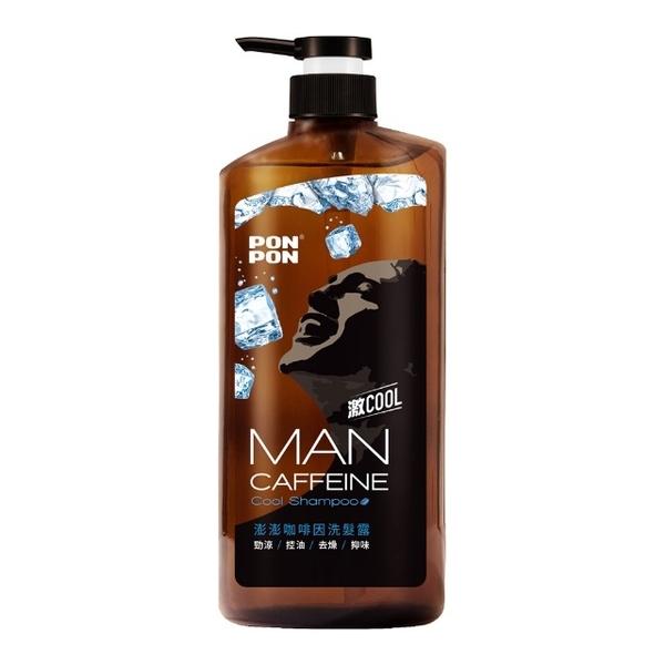 (PONPON MAN)【澎澎MAN】Caffeine Cool Shampoo -650g+30g
