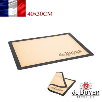 (de Buyer)French] [de Buyer Verbier professional non-stick baking temperature silicone baking mat material 40x30cm