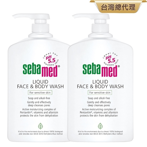 (Sebamed)Seba Cleanser 1000ml 2 into