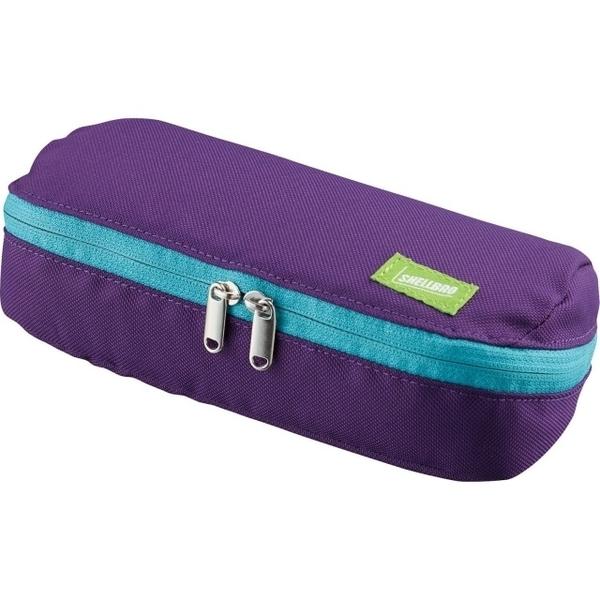 (Kokuyo)KOKUYO Large Capacity SHELLBRO Pencil Case - Purple