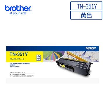 Brother TN-351Y Original Yellow Toner Cartridge