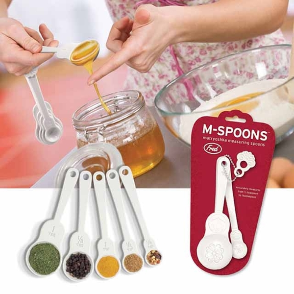 (Fred&Friends)Fred & Friends M-Spoons Russian Doll Measuring Spoons's
