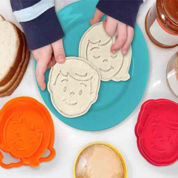 (Fred&Friends)[Fred & Friends] Bread Head Bread Transfer Molding Mould