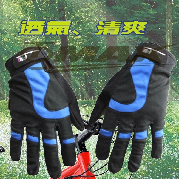 omax new style minimalist all-finger gloves - Gray