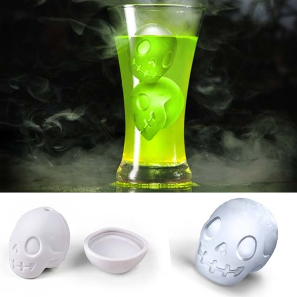 (Fred & Friends) THE CHILLER Ice Mold Skull Head Shape Ice Cube Maker