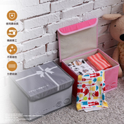 [TAITRA] Multi-purpose - Personal Items Storage Box with Lid Cover (Small) - 26x20x16cm - Pink
