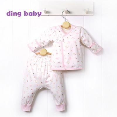 (ding baby) Ding ทารก ?? สวรรค์ย้อนกลับพับชุดสูทท้องทารกแรกเกิด - ผง