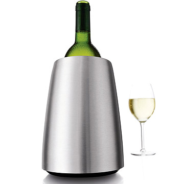 (VACU VIN)The VACU the VIN, Chill rapid cold stainless steel ice bucket