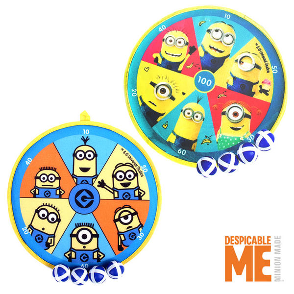 (MINIONS)[Love and rich L & R] Minions small soldier / thief milk dad dart target sticky ball group XJX66134