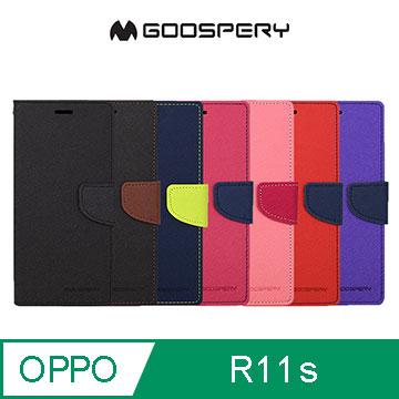 (GOOSPERY)GOOSPERY OPPO R11s FANCY Leather Case