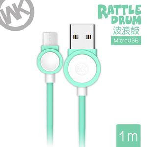 (WK)Hong Kong Tide brand [WK] 1M Bo Langgu Series Mirco-USB charge cable / WKC 002-GRM