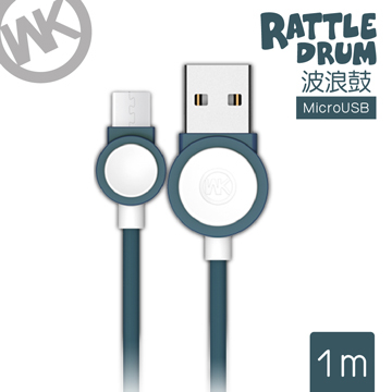 Hong Kong Tide brand [WK] 1M Bo Langgu Series Mirco-USB charge cable / WKC 002-BUM