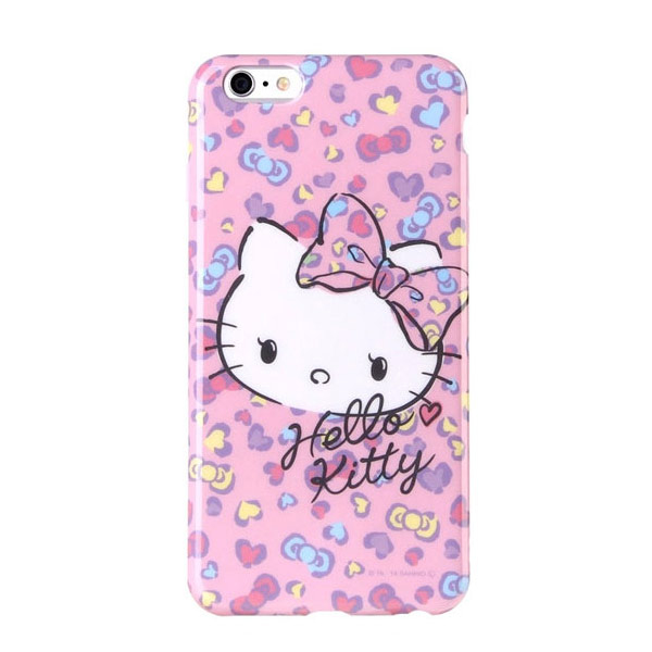 (Hello Kitty)Hello Kitty iPhone6/6s Plus 5.5inch phone case (soft case). pink bow