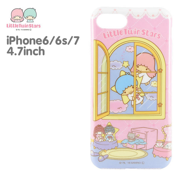 (Sanrio)Sanrio Double Star Fairy iPhone6/6S/7 4.7吋TPU Phone Case (Soft)