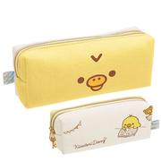 (san-x)Rilakkuma Rilakkuma Chick Dressup Theme Canvas Pencil Bag Stationery Bag