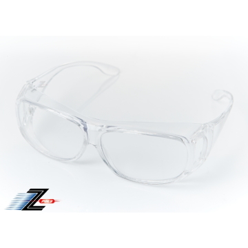(Z-POLS)[Aspect Ding Z-POLS] can be enlarging version can be coated with glasses Design transparent PC explosion-proof security lenses anti-UV400 wind
