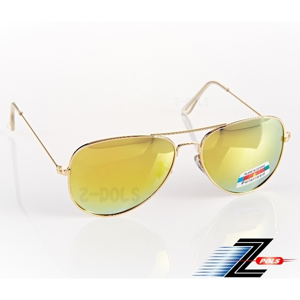 (Z-POLS)※ Aspect Z-POLS Ray-Ban retro style ※ Polaroid top plating multi-layer anti-UV400 polarizing glasses, new listing! (Green-green multi-layer pl