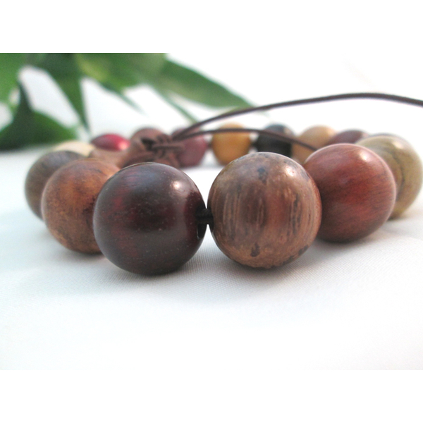 Arts Square [original] natural wealth and more Sarah Lucky beads bracelets (large)