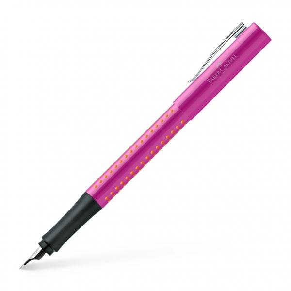 Faber-FABER-CASTELL good idea macaron pen / 140924 / F tip / pink orange