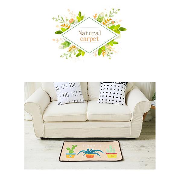 [Receiving staff] Entrance bathroom door mats Floor mats Foot mat Non-slip mats 40*60cm (Triangle green)
