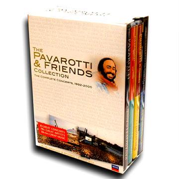 Pavarotti and pop stars Century Collector\'s Edition DVD (DVD-3033)