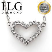 (ILG DIAMOND)[Top] ILG diamond Hearts and Arrows diamond necklace realistic - crushes mood paragraph -NC088 Valentine gifts birthday gift girlfriend t