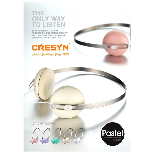 Cresyn Pastel หูฟัง รุ่น C300H (มีให้เลือก 5 สี)